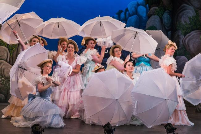 Dress rehearsal for The Pirates of Penzance by the National Gilbert & Sullivan Opera Company – Picture: Jane Stokes