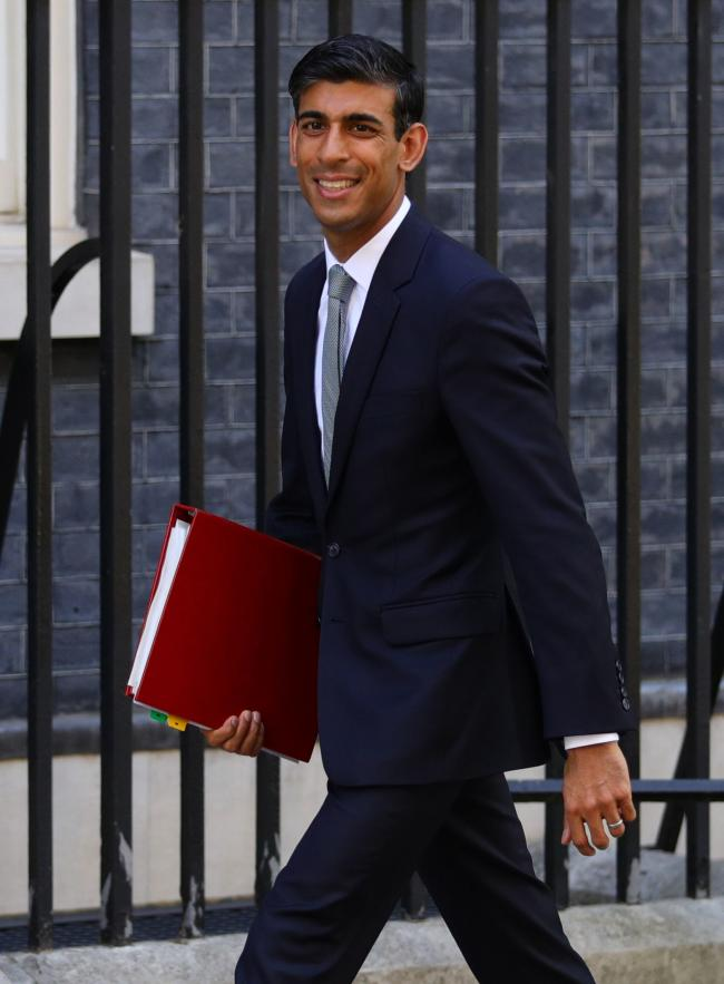 Newly installed Chief Secretary to the Treasury Rishi Sunak arrives for a cabinet meeting at 10 Downing Street, London. PRESS ASSOCIATION Photo. Picture date: Thursday July 25, 2019. See PA story POLITICS Tories. Photo credit should read: Aaron Chown/PA W