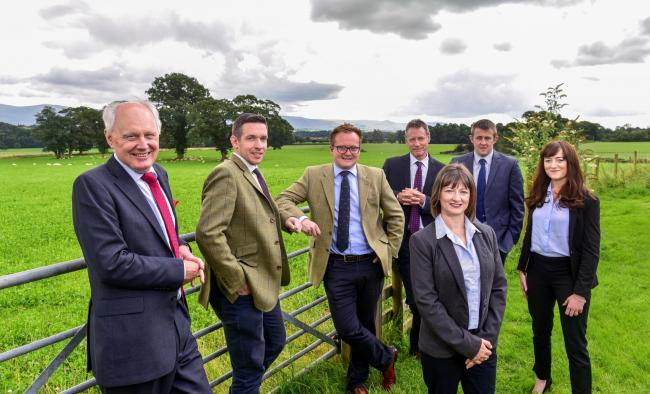 Colin Tomlinson, managing director of H&H Land & Estates, with the operations team