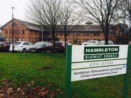 Hambleton District Council headuarters at Stonecross, Northallerton