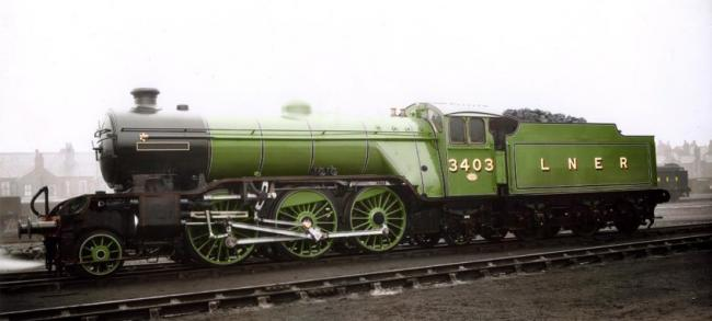 The A1 Steam Locomotive Trust want to build a new No. 3403 Class V4 Picture: A1SLT