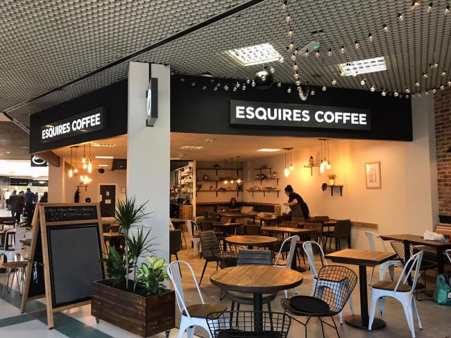 Esquires Coffee opens in Darlington's Cornmill Shopping Centre