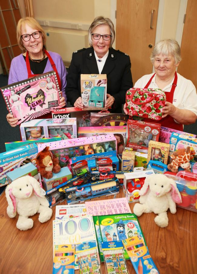 This year's Salvation Army Toy Appeal has received significantly less donations than in usual years 