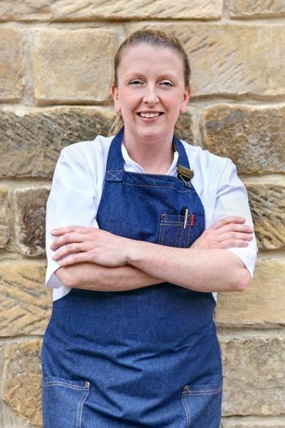 Amy Callin is promoting cookery experiences