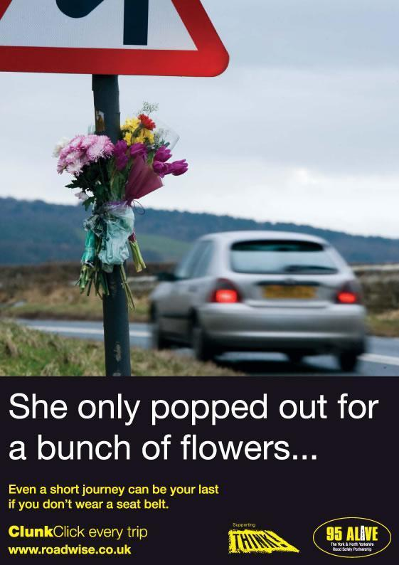 North Yorkshire: Road safety campaign  by 95 Alive