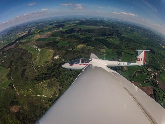 Gliders return to skies above North Yorkshire