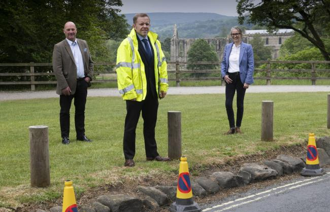 Highway teams help Bolton Abbey get ready for reopening