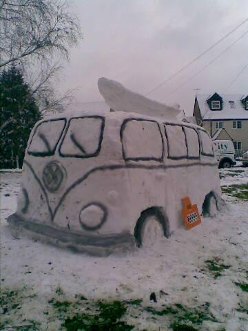 Cool, man: this VW Campervan could do with some anti-freeze