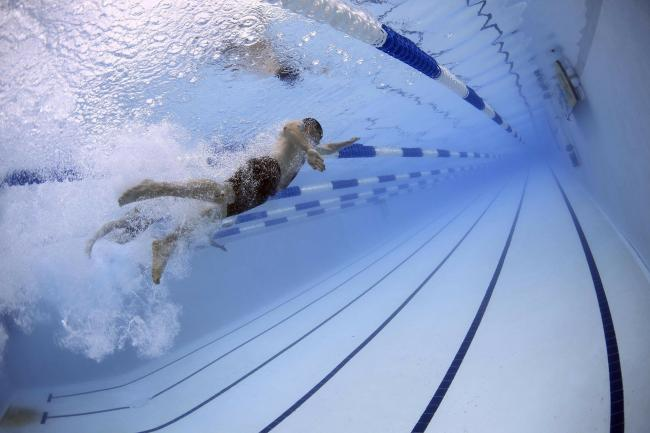 Swimming sessions have restarted with strict measures in place Picture: PIXABAY