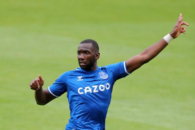 Yannick Bolasie played for Everton in pre-season friendlies against Blackpool and Preston this summer