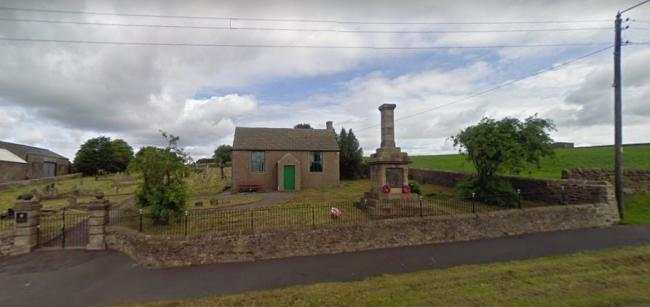 The war memorial at Woodland is 100 years old this year and unique in County Durham. Picture: Google StreetView