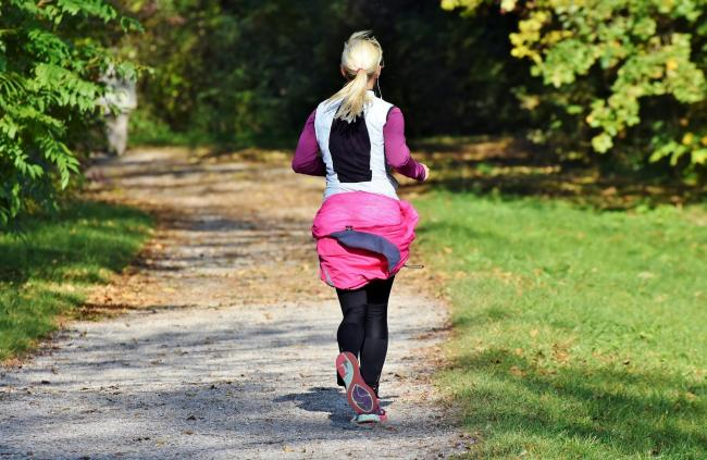 A woman was slapped on the bottom whilst out jogging (file photo) Picture: Pixabay