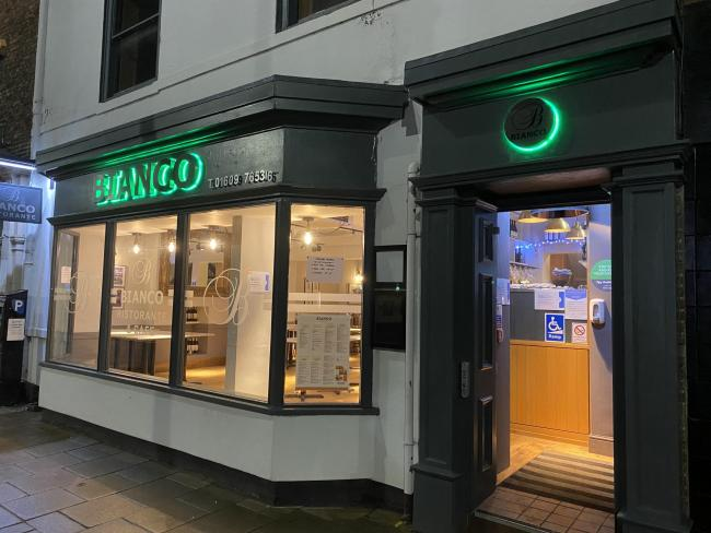 Eating out at Bianco, Northallerton