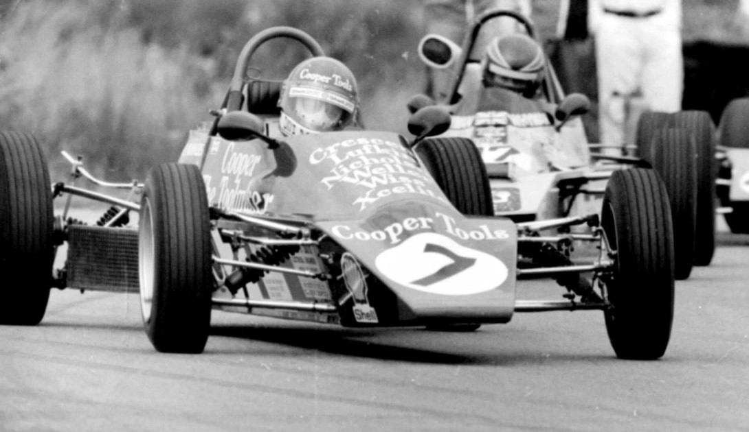 Dave Manners on his way to victory in Formula Ford 1600 in March 1979 Picture: SPENCER OLIVER