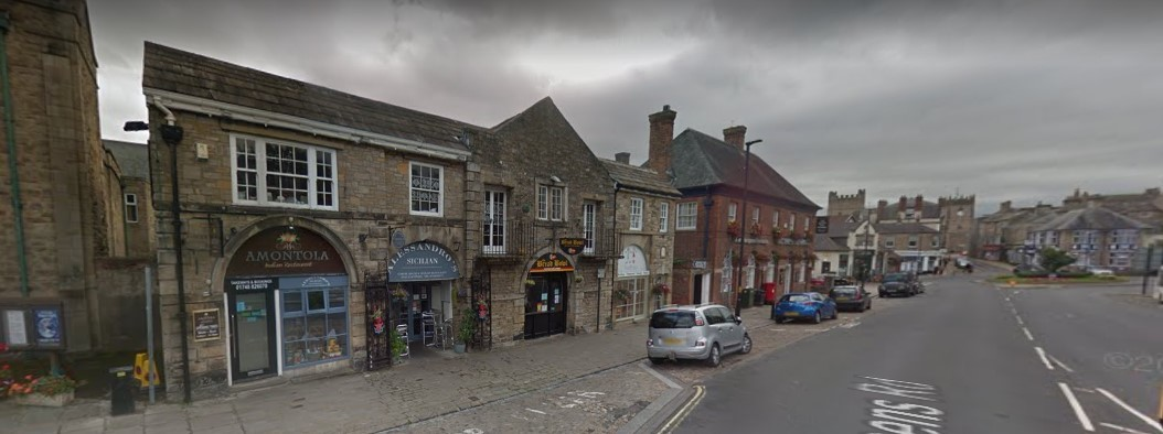 The restaurant in Queens Road, Richmond, which used to be the driveway to Cradock Hall. Picture: Google StreetView