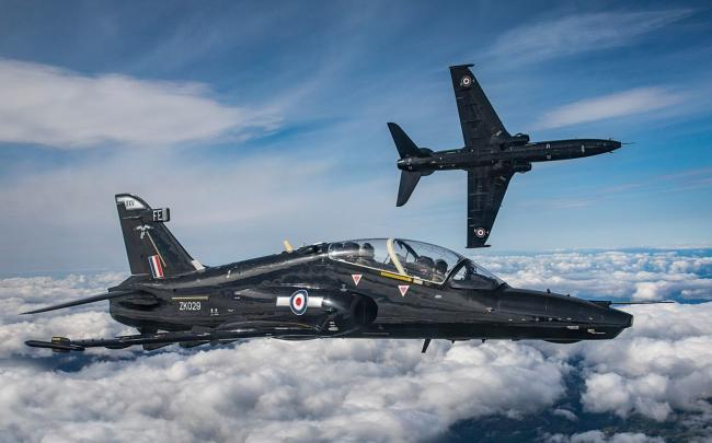 A new Squadron of  UK-built Hawk Mark 2 Aircraft will be formed at RAF Leeming Picture: MoD