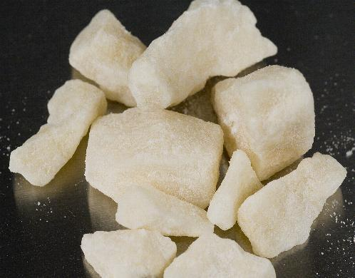 Class A drug crack cocaine like the substance seized by police in Middlesbrough