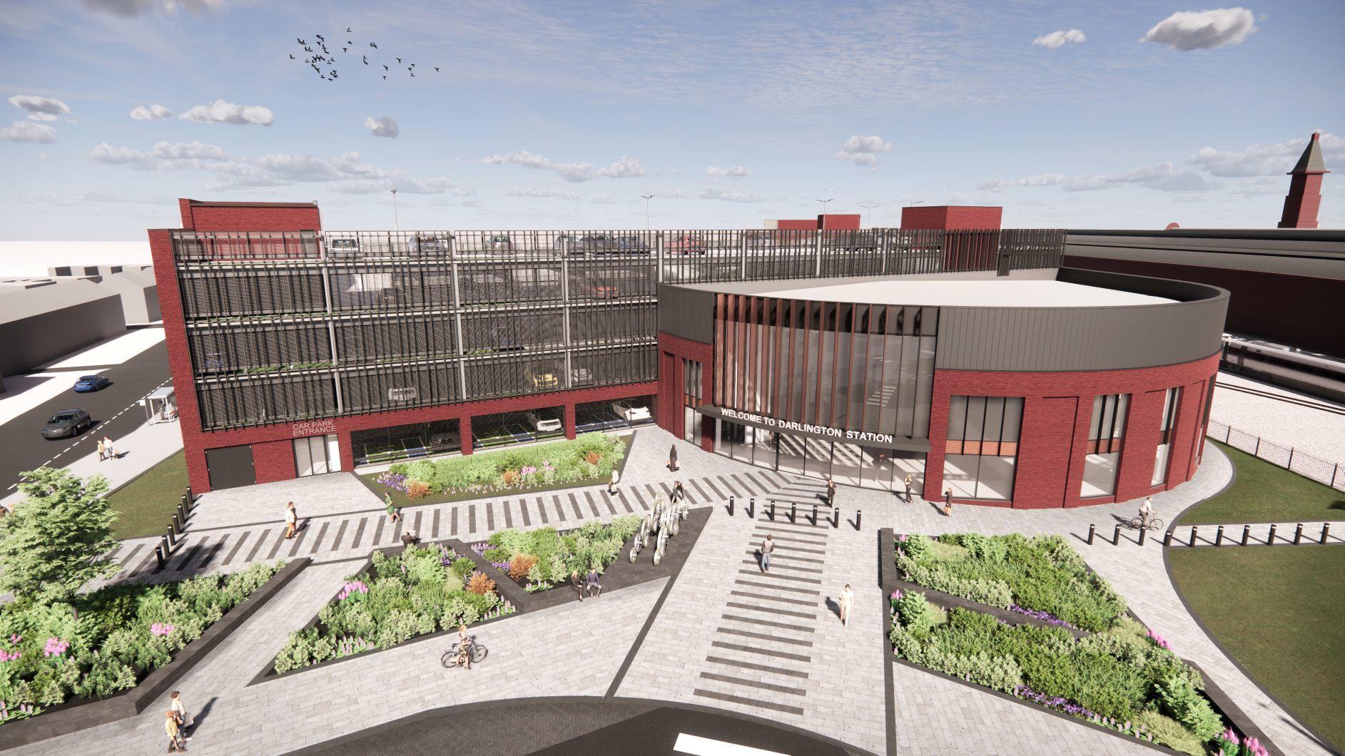 Consultation underway on £100m redevelopment of Darlington Station