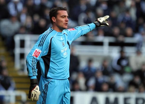 WEMBLEY WOE: Steve Harper suffered FA Cup final heartbreak at Wembley while playing for Newcastle United