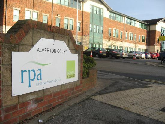 Darlington and Stockton Times: The Rural Payments Agency in Northallerton.
