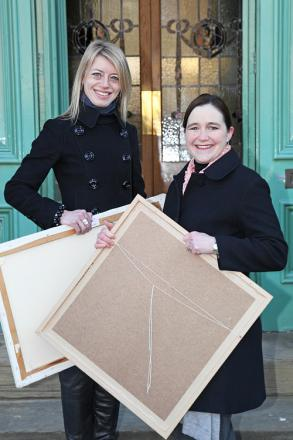 Kate Brindley, left, who will step down after five years in charge of mima
