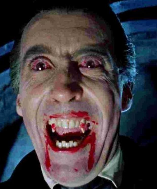 ICONIC ROLE: Christopher Lee as Dracula