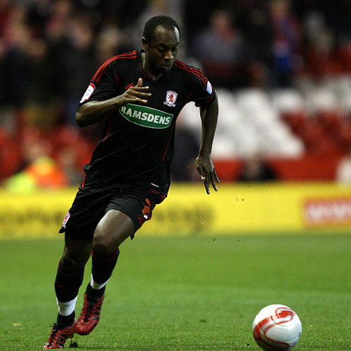 Gone: Justin Hoyte has left Boro