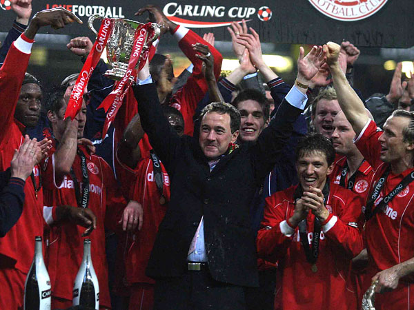 MILLENNIUM MEMORIES: The end of this month marks the tenth anniversary of Middlesbrough's Carling Cup success