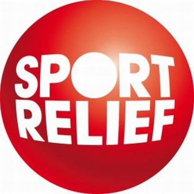 Darlington and Stockton Times: FUNDS RAISED: A bag-pack by members of Hummersknott Badminton Club, at Sainsbury's in Victoria Road, raised £565.31 for Sport Relief.