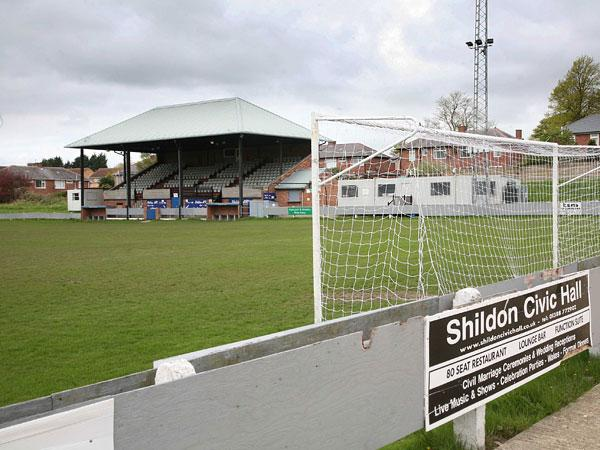 Shildon FC's 2,500 capacity ground