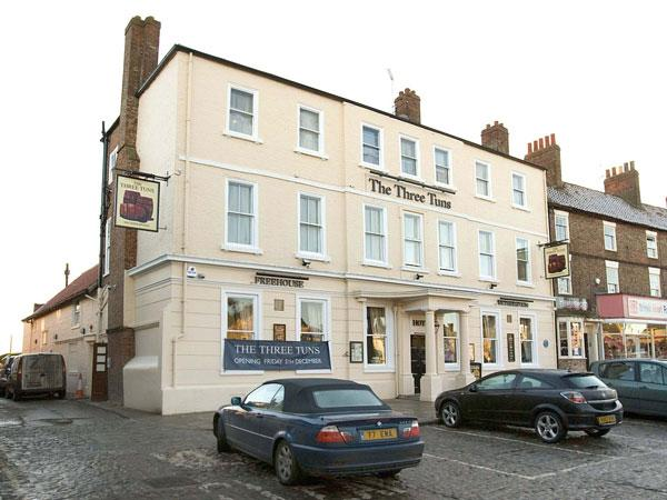 The Three Tuns hotel in Thirsk