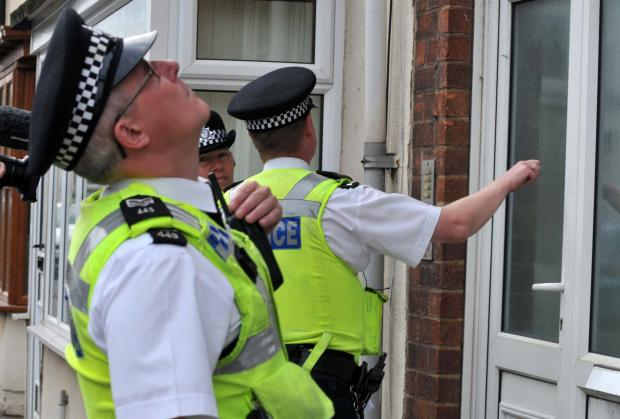 Police target burglars in early-morning raids
