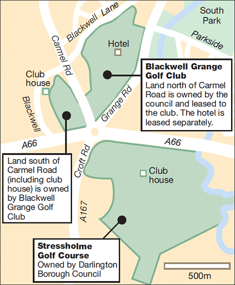 Blackwell and Stressholme Golf Clubs
