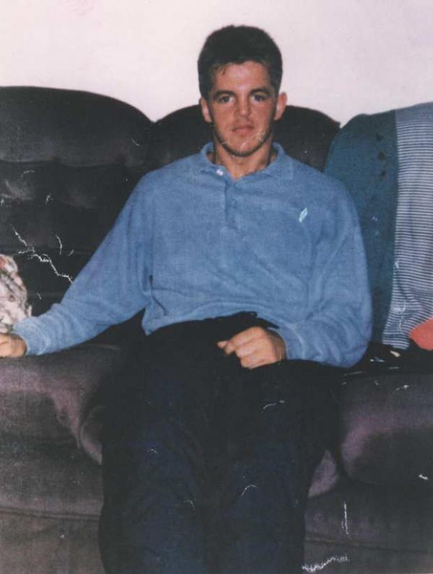 FATAL ASSAULT: Lee Duffy, who was killed in 1996