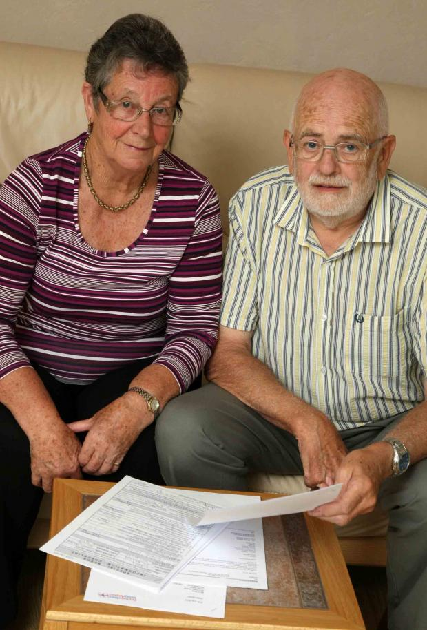 Carers Carl and Brenda Bray