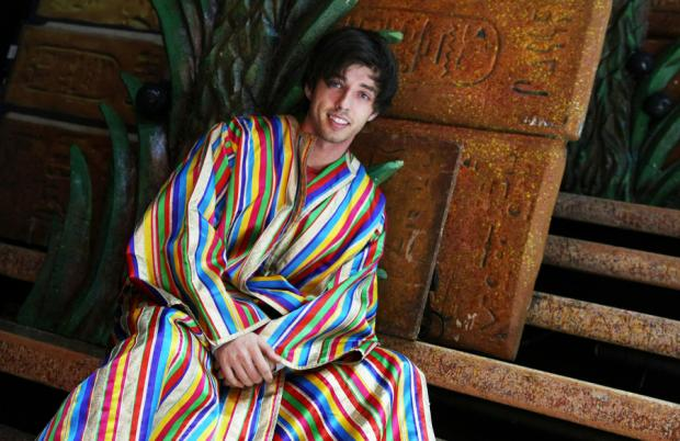 LEADING SHOW: Keith Jack as Joseph, at Darlington Civic Theatre