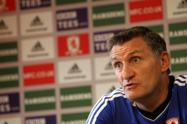 HOPEFUL: Tony Mowbray has not ruled out late promotion push