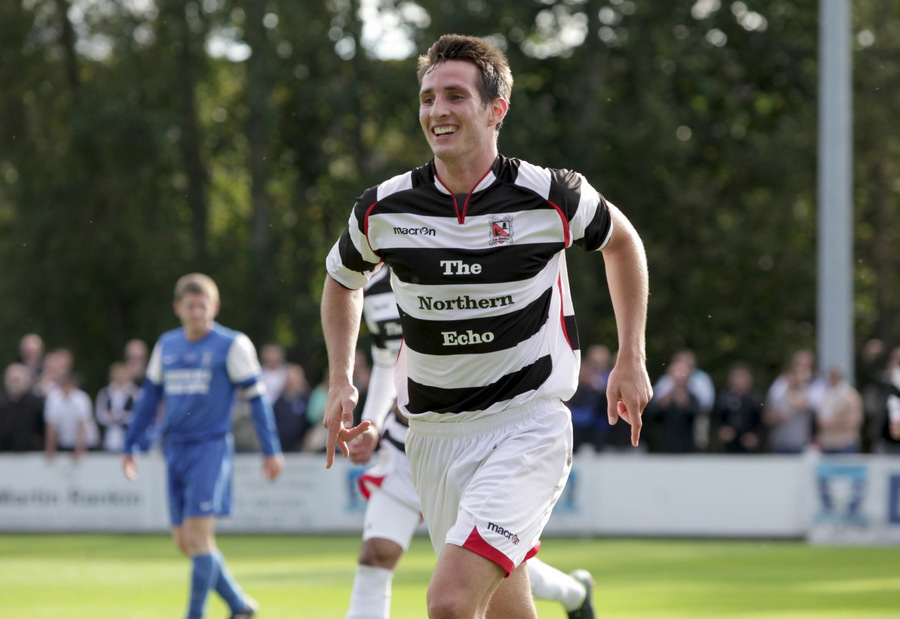 ON THE MOVE: Joe Tait has signed for Spennymoor Town
