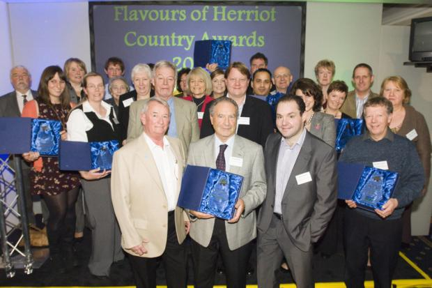 TRIUMPH: The 2011 Flavours of Herriot Country award-winners