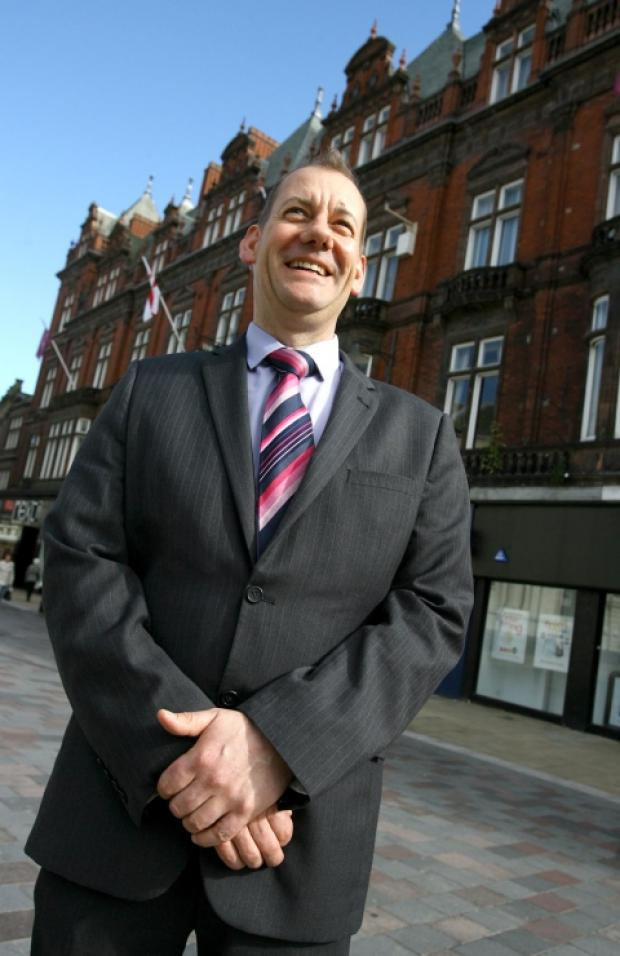 General Manager Dale Needham outside the hotel.