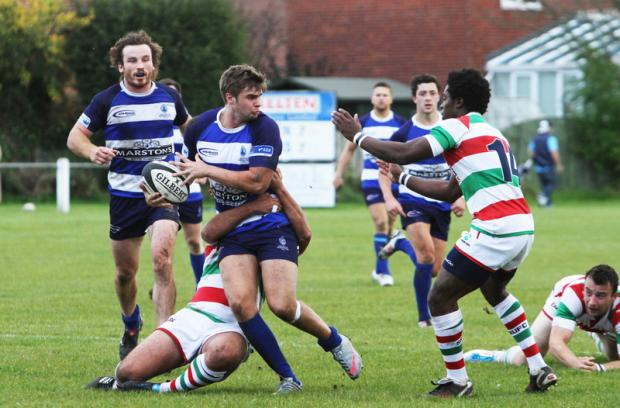 ANOTHER WIN: Shaun Mcartney in action for Mowden Park