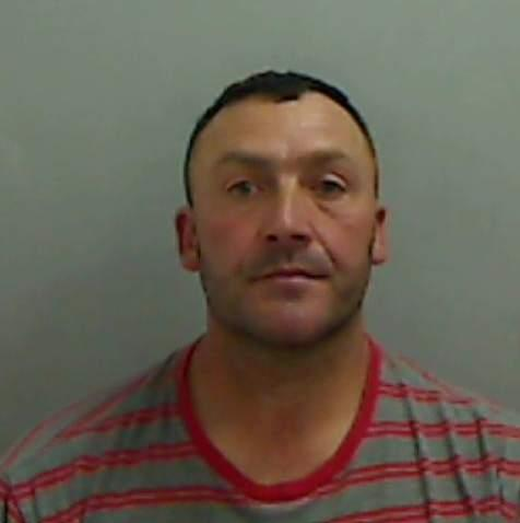 JAILED: Paul Leather