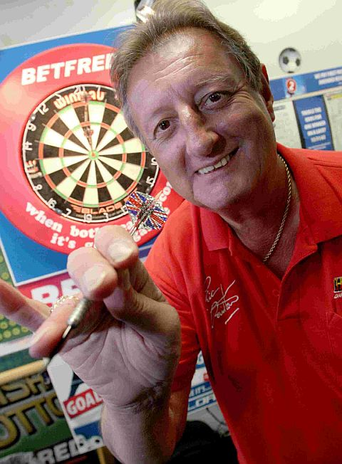 BULLSEYE: Eric Bristow. Library picture.