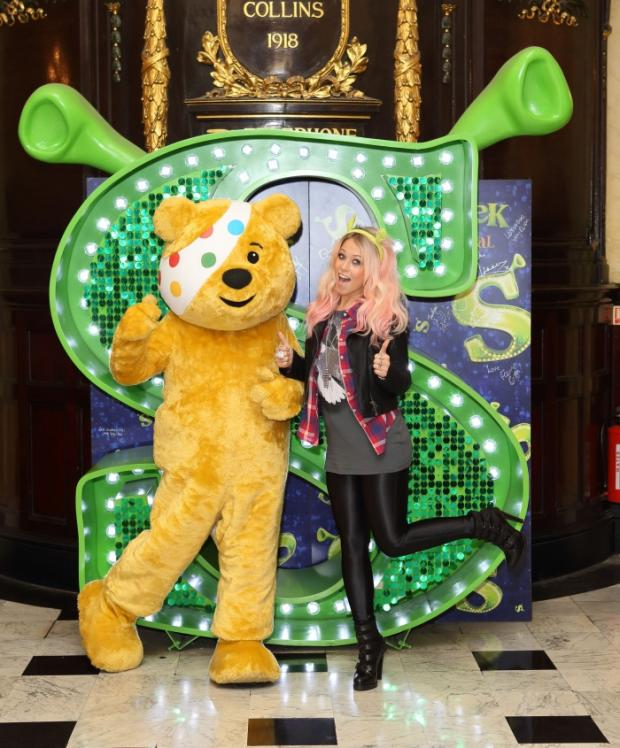 Amelia Lily and Pudsey Bear