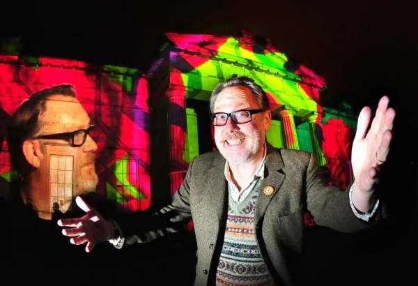 Jim Moir, (Vic Reeves) at Illuminating York tonight