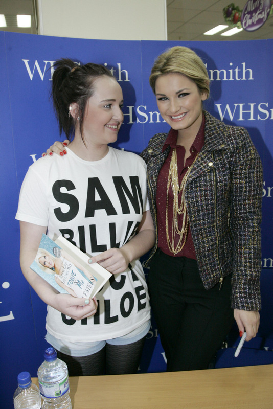 ONLY WAY: Beth Watson, 14, from Thornaby, meets her idol Sam Faiers in Darlington