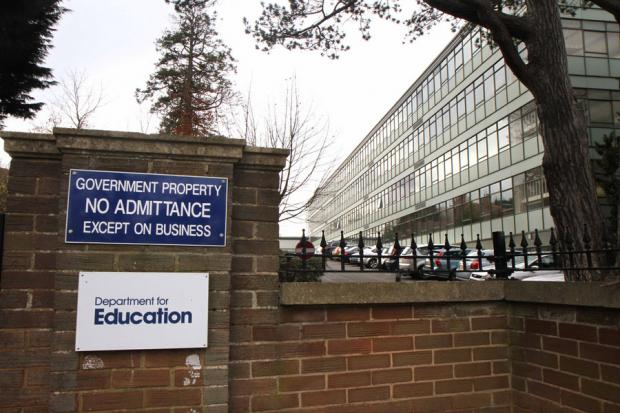 JOBS CRISIS: The Department for Education offices at Mowden Hall, Darlington