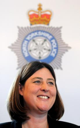 SPECIAL APPEAL: North Yorkshire Police and Crime Commissioner Julia Mulligan.