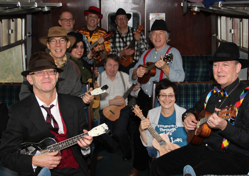 STRUM: Ukuleles on the Wensleydale Railway