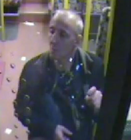 The man police would like to speak to in relation to bus incident